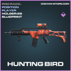 Hunting Bird Holger-26 skin epic blueprint call of duty modern warfare warzone item