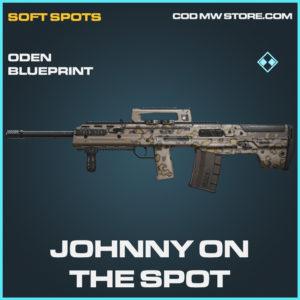 Johnny on the spot oden skin rare blueprint call of duty modern warfare warzone item