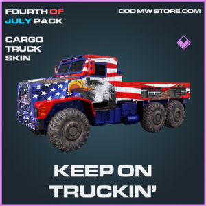 Keep On Truckin' epic cargo truck skin call of duty modern warfare warzone item