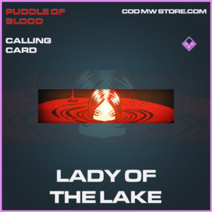 Lady of the lake calling card epic call of duty modern warfare warzone item