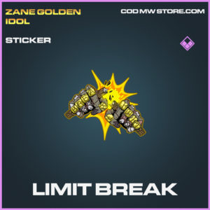 Limit Break sticker epic call of duty modern warfare warzone item