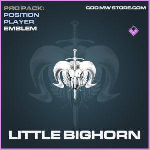 Little Bighorn emblem epic call of duty modern warfare warzone item