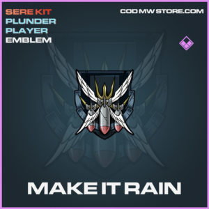 Make It Rain emblem epic call of duty modern warfare warzone item