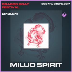 Miluo Spirit emblem epic call of duty modern warfare warzone item