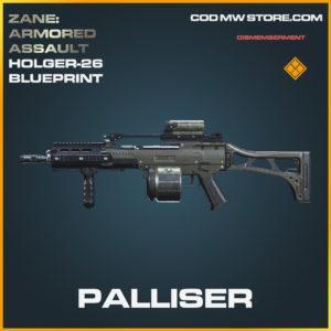 Palliser Holger-26 skin legendary blueprint call of duty modern warfare warzone item