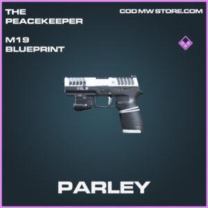 Parley M19 skin epic blueprint call of duty modern warfare warzone item