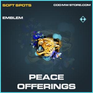 Peace Offerings emblem rare call of duty modern warfare warzone item
