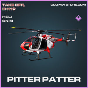 Pitter Patter heli skin epic call of duty modern warfare warzone item