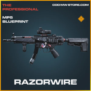 Razorwire mp5 skin legendary blueprint call of duty modern warfare warzone item
