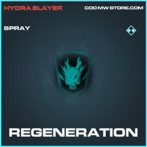 Regeneration spray rare call of duty modern warfare warzone item