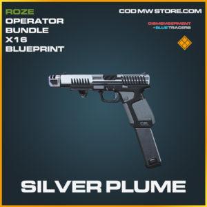 Silver plume X16 skin legendary blueprint call of duty modern warfare warzone item