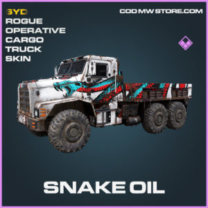 Snake Oil cargo truck skin epic call of duty modern warfare warzone item