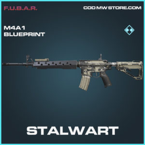 Stalwart M4A1 skin rare blueprint call of duty modern warfare warzone item