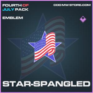 Star-Spangled emblem epic call of duty modern warfare warzone item