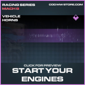 Start your engines vehicle skins epic call of duty modern warfare warzone item