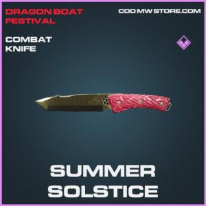 Summer Solstice combat knife epic call of duty modern warfare warzone item