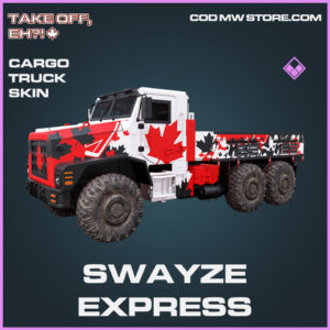 Swayze Express cargo truck skin epic call of duty modern warfare warzone item