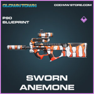 Sworn Anemone P90 skin epic blueprint call of duty modern warfare warzone item