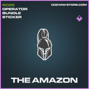 The amazon sticker epic call of duty modern warfare warzone item