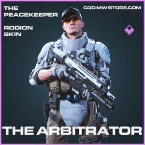 The Arbitrator Rodion skin epic call of duty modern warfare warzone item