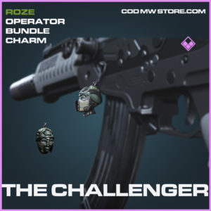 The CHallenger charm epic call of duty modern warfare warzone item