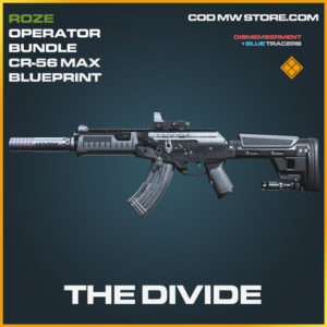 The Divide CR-56 Max skin legendary blueprint call of duty modern warfare warzone item