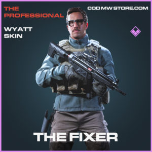 The Fixer Wyatt skin epic call of duty modern warfare warzone item