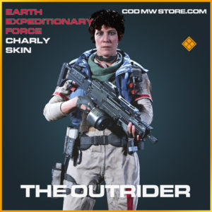 The Outrider charly skin legendary call of duty modern warfare warzone item
