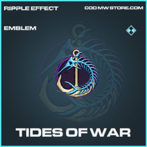 Tides of War emblem rare call of duty modern warfare warzone item