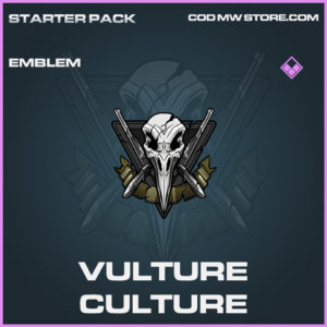 Vulture Culture emblem epic call of duty modern warfare warzone item