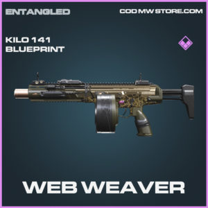Web Weaver Kilo 141 skin epic blueprint call of duty modern warfare warzone item