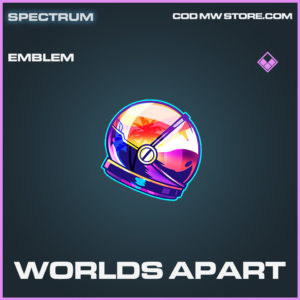Worlds Apart emblem epic call of duty modern warfare warzone item