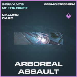 Arboreal Assault calling card epic call of duty modern warfare warzone item
