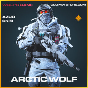 Arctic Wolf azur skin legendary call of duty modern warfare warzone item