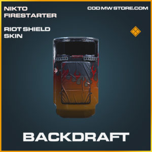 Backdraft Riot Shield Skin legendary call of duty modern warfare warzone item
