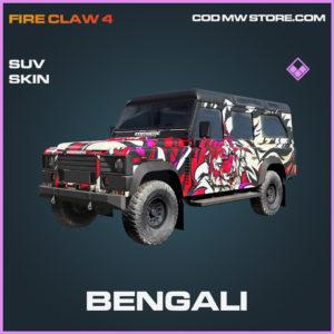 Bengali SUV skin epic call of duty modern warfare warzone item