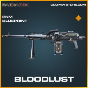 Bloodlust PKM skin legendary blueprint call of duty modern warfare warzone item