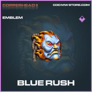 Blue Rush emblem epic call of duty modern warfare warzone item