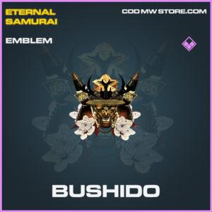Bushido Emblem epic call of duty modern warfare warzone item