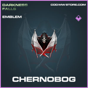 Chernobog emblem epic call of duty modern warfare warzone item