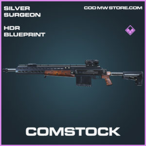 Comstock HDR skin epic blueprint call of duty modern warfare warzone item