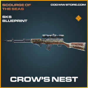 Crow's Nest SKS skin legendary blueprint call of duty modern warfare warzone item