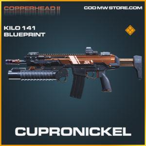 Cupronickel Kilo 141 skin legendary blueprint call of duty modern warfare warzone item