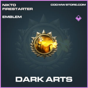 Dark Arts Emblem epic call of duty modern warfare warzone item