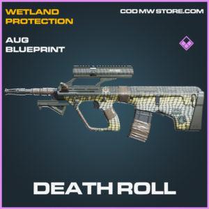 Death Roll AUG skin epic blueprint call of duty modern warfare warzone item