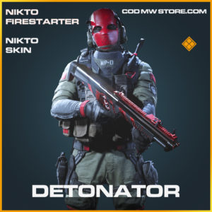 Detonator Nikto skin legendary call of duty modern warfare warzone item