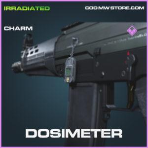 Dosimeter charm epic call of duty modern warfare warzone item