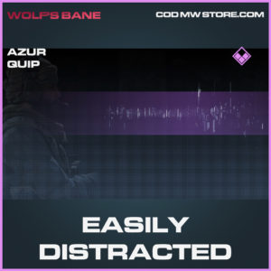 Easily Distracted Azur quip call of duty modern warfare warzone item