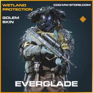 Everglade golem skin legendary call of duty modern warfare warzone item