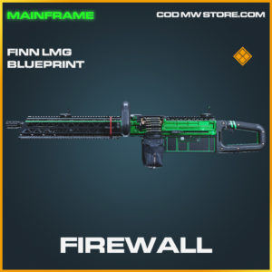 Firewall Finn LMG skin legendary blueprint call of duty modern warfare warzone item